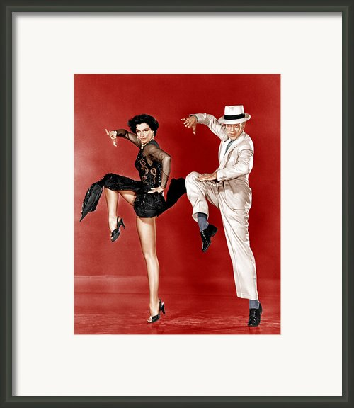 The Band Wagon, From Left Cyd Charisse Framed Print By Everett