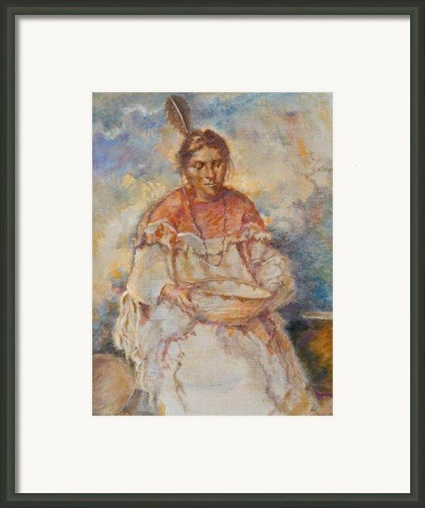 The Basket Maker Framed Print By Ellen Dreibelbis