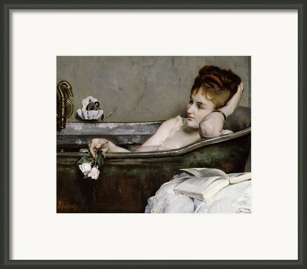 The Bath Framed Print By Alfred George Stevens