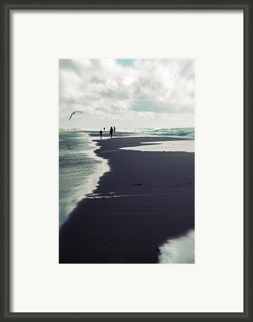 The Beach Framed Print By Joana Kruse