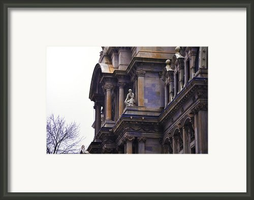 The Beauty Of Philadelphia City Hall Framed Print By Bill Cannon
