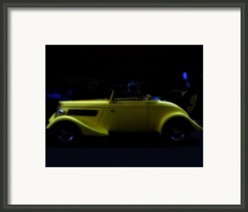The Beauty Of Yellow Framed Print By Steven  Digman