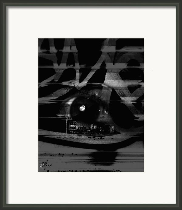 The Beholder Framed Print By Ken Walker