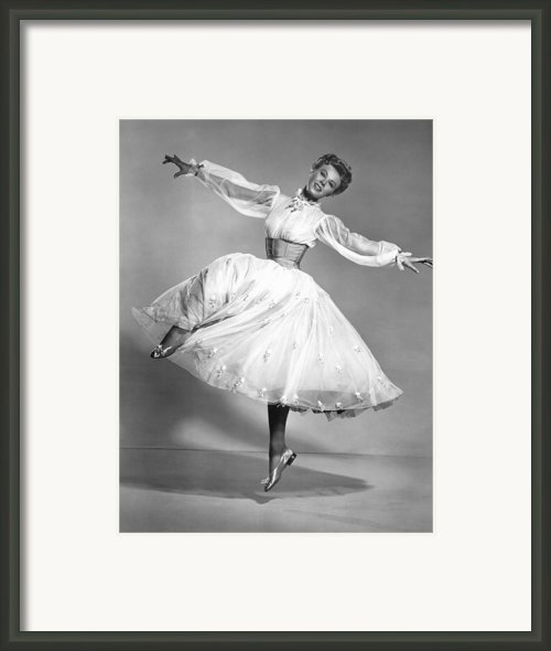 The Belle Of New York, Vera-ellen, 1952 Framed Print By Everett