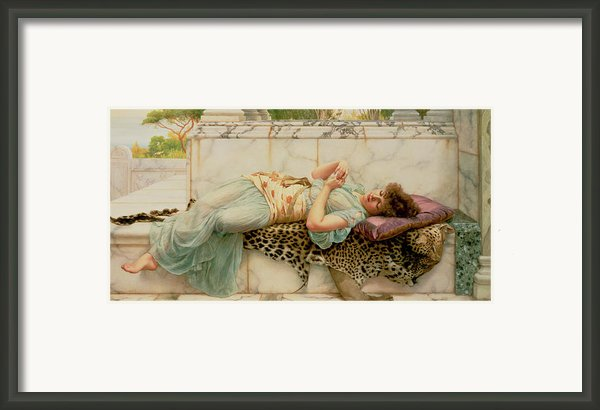 The Betrothed Framed Print By John William Godward