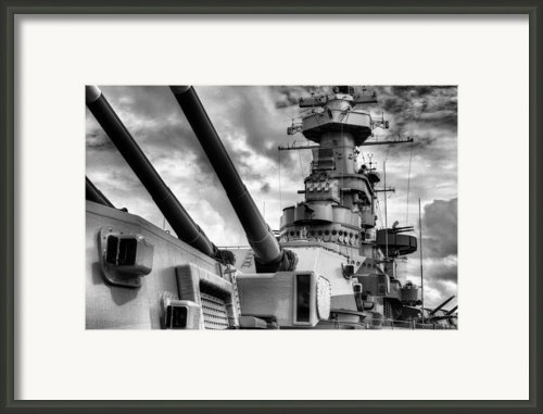 The Big Nc Framed Print By Jc Findley