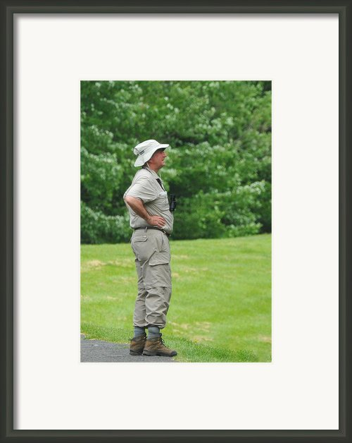 The Birdwatcher Framed Print By Paul Ward