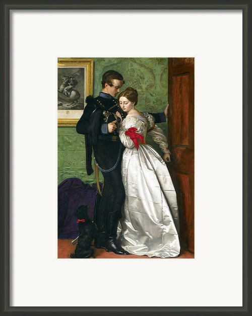 The Black Brunswicker Framed Print By Sir John Everett Millais