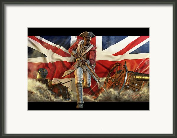 The Black Loyalist Framed Print By Kurt Miller