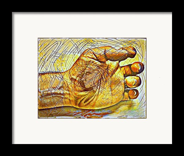 The Body As The External Representation Of Internal Reality Framed Print By Paulo Zerbato