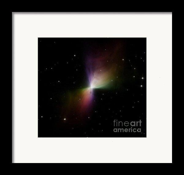 The Boomerang Nebula Framed Print By Stocktrek Images