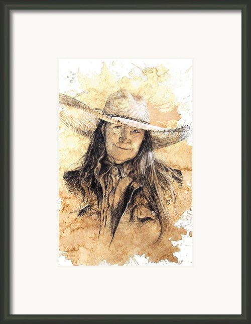 The Boss Framed Print By Debra Jones