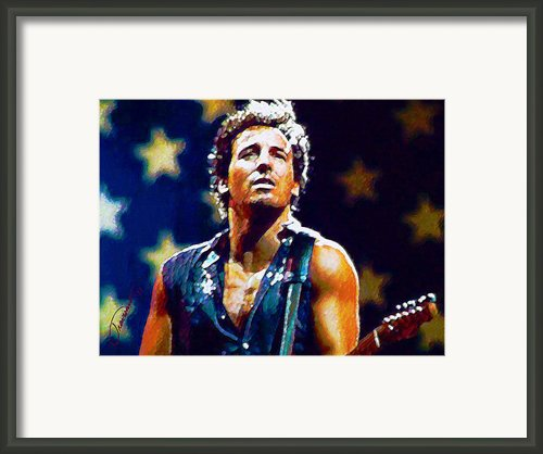 The Boss Framed Print By John Travisano