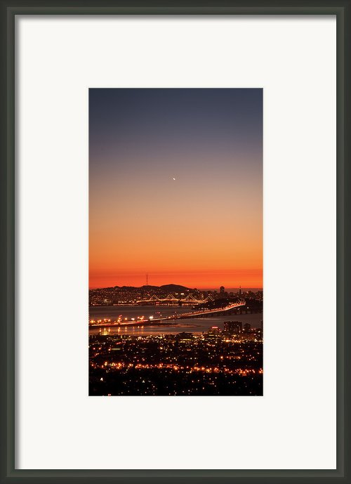 The Bridge To The City Framed Print By Cochet_c