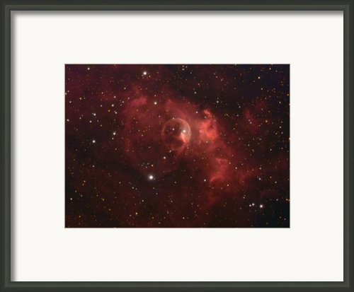 The Bubble Nebula Framed Print By Charles Warren