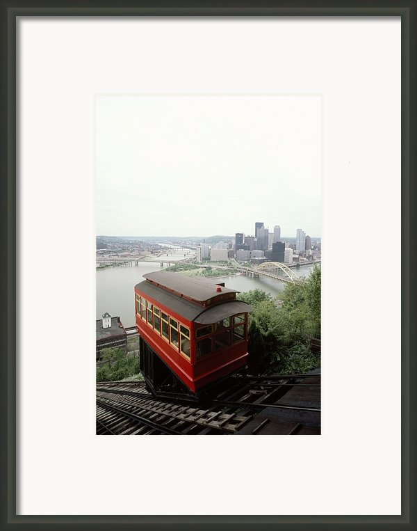 The Cable Car To Mount Washington Framed Print By Lynn Johnson