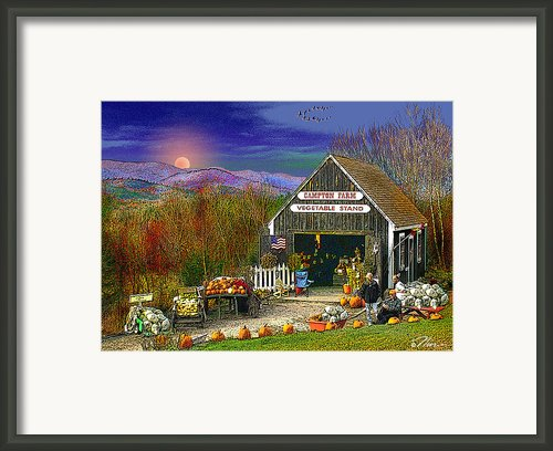 The Campton Farm Framed Print By Nancy Griswold