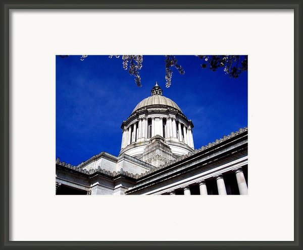 The Capital  Framed Print By Kevin D Davis