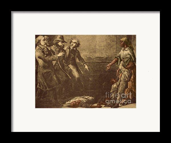 The Capture Of Margaret Garner Framed Print By Photo Researchers