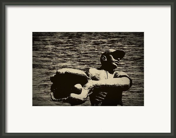 The Catch Framed Print By Bill Cannon