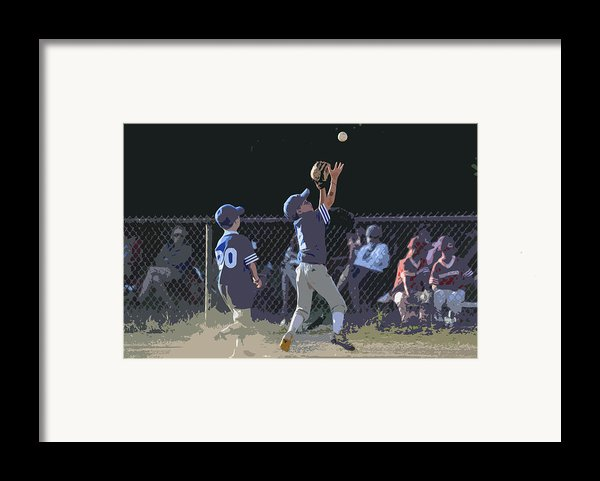 The Catch Framed Print By Peter  Mcintosh