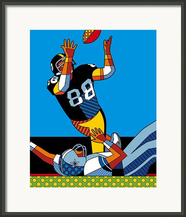 The Catch Framed Print By Ron Magnes