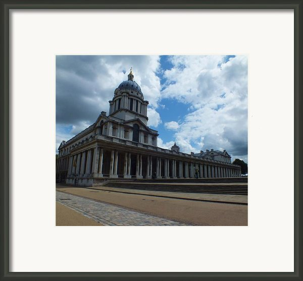 The Chapel At The Royal Naval College Framed Print By Anna Villarreal Garbis