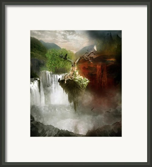 The Choice Framed Print By Karen Koski