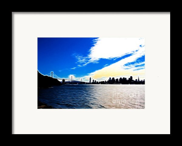 The City By The Bay Framed Print By Wingsdomain Art And Photography