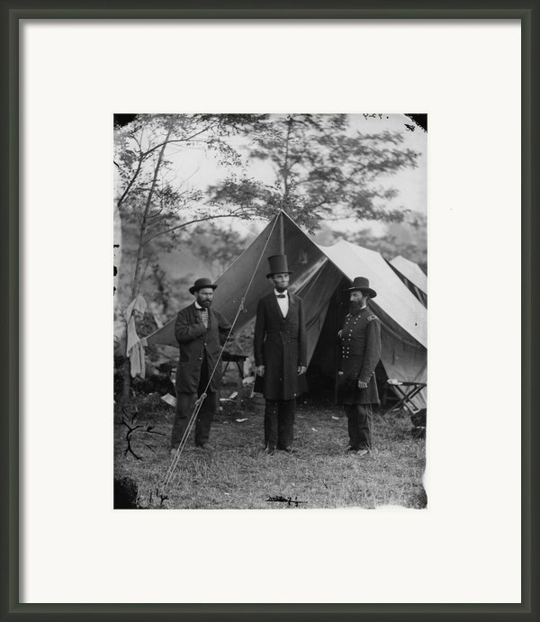 The Civil War, Antietam, Md. Allan Framed Print By Everett