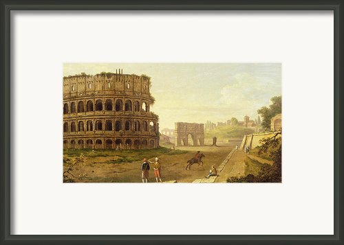 The Colosseum Framed Print By John Inigo Richards