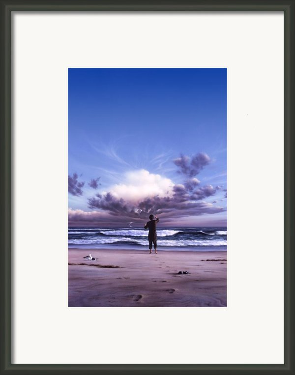 The Conductor Framed Print By Jerry Lofaro
