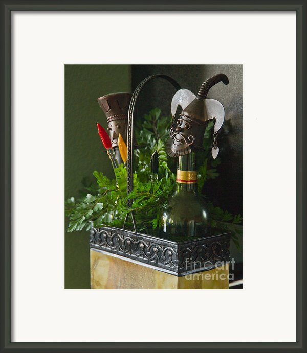 The Cork Jester Framed Print By Michael Flood