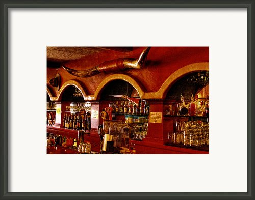 The Cowboy Club Bar In Sedona Arizona Framed Print By David Patterson