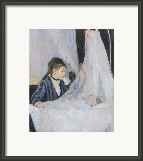 The Cradle Framed Print By Berthe Morisot
