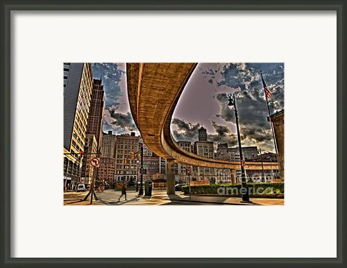 The Crosswalk Framed Print By The Stone Age