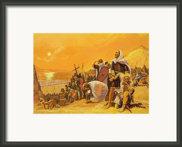 The Crusades Framed Print By Gerry Embleton