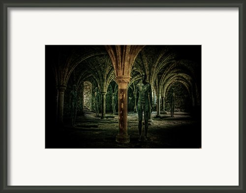 The Crypt Framed Print By Chris Lord