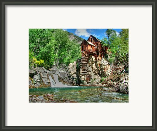 The Crystal Mill 1 Framed Print By Ken Smith
