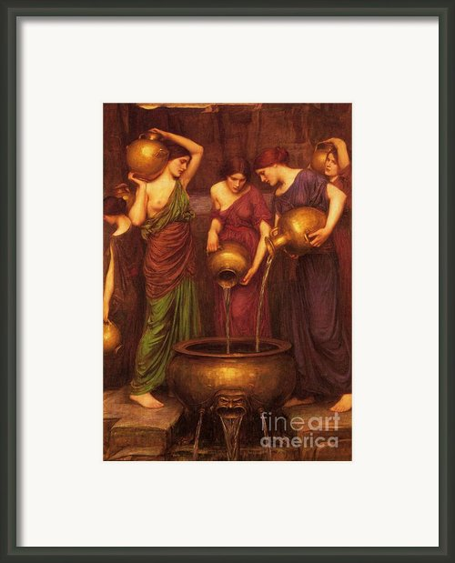 The Danaides Framed Print By Pg Reproductions