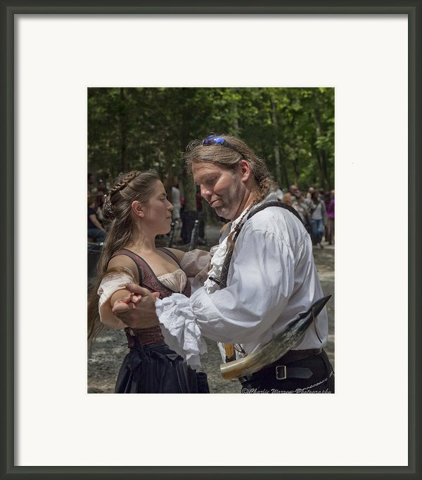 The Dance Framed Print By Charles Warren