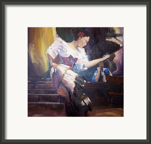 The Dancer Framed Print By Andreia Medlin