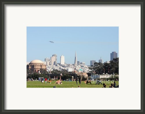The Day The Circus Came To Town Framed Print By Wingsdomain Art And Photography
