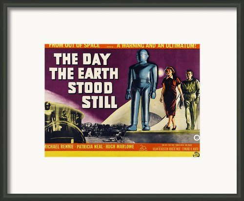 The Day The Earth Stood Still, Lock Framed Print By Everett