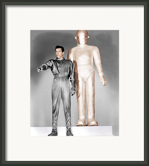 The Day The Earth Stood Still, Michael Framed Print By Everett