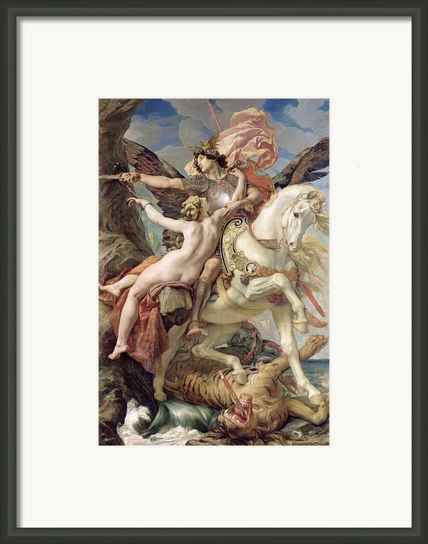 The Deliverance Framed Print By Joseph Paul Blanc