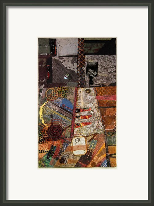 The Detritus Of Working Class Lives Framed Print By Martha Ressler