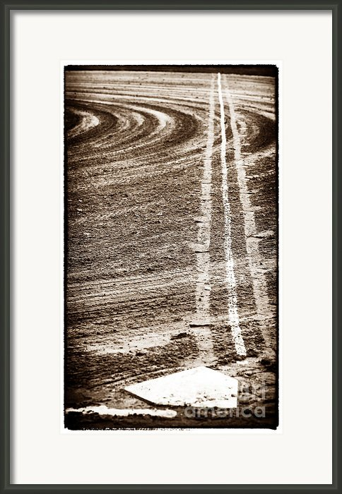 The Dirt Field Framed Print By John Rizzuto