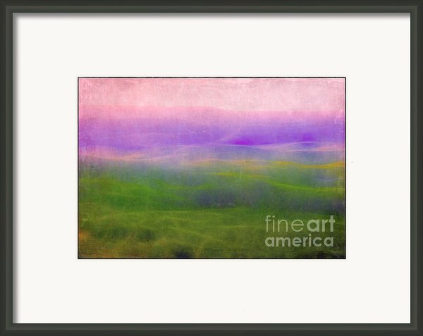 The Distant Hills Framed Print By Judi Bagwell