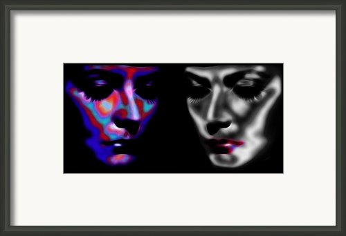 The Divine 3 Framed Print By Stefan Kuhn